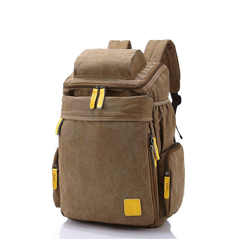2015新款 登山包 繼承者們同款包 帆布雙肩後背包 運動旅行包 大容量包