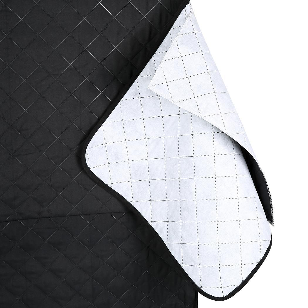 Quilted Micro Fiber Pet Dog Loveseat Chair Sofa Cover 5