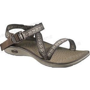 ├登山樂┤美國Chaco 女戶外休閒涼鞋-標準款 標籤褐 # CH-ETW26-HA20