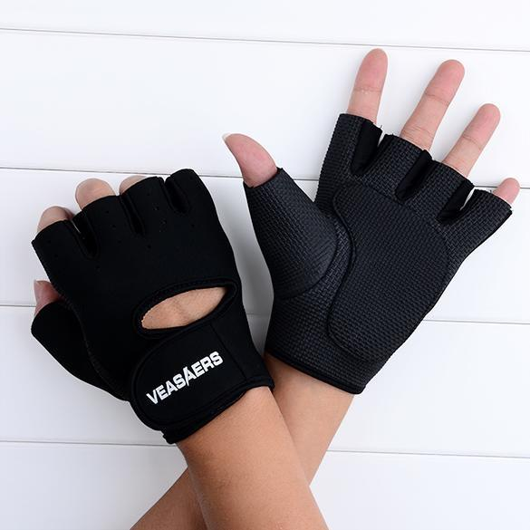 Sport Cycling Fitness GYM Half Finger Weightlifting Gloves Exercise Training 3
