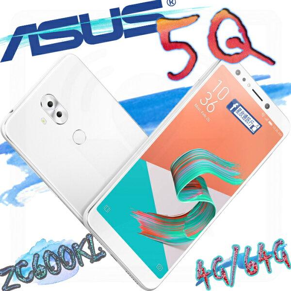 【星欣】ASUSZenFone5QZC600KL4G64G超廣角四鏡頭2000萬自拍雙鏡頭Snapdragon630處理器直購價