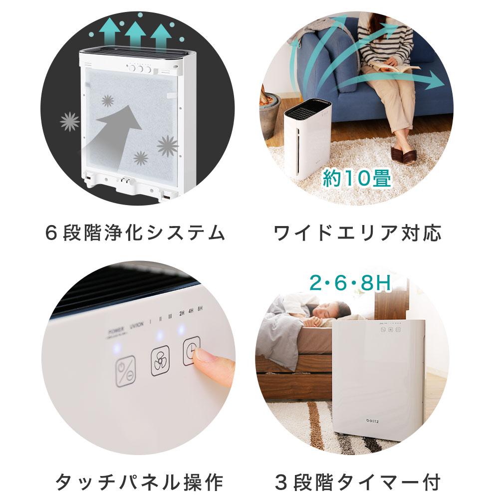 日本boltz / 時尚空氣清淨機 PM2.5 HEPA 約5坪  / a221 / e199-g1007-1000。1色。(10990)日本必買代購 / 日本樂天。件件免運 3