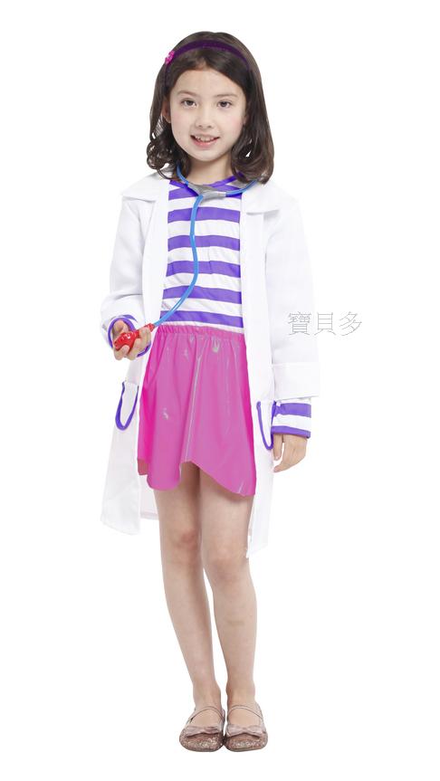 東區派對- 萬聖節服裝,萬聖節服飾,變裝派對,兒童變裝服-醫生袍/兒童醫生白袍