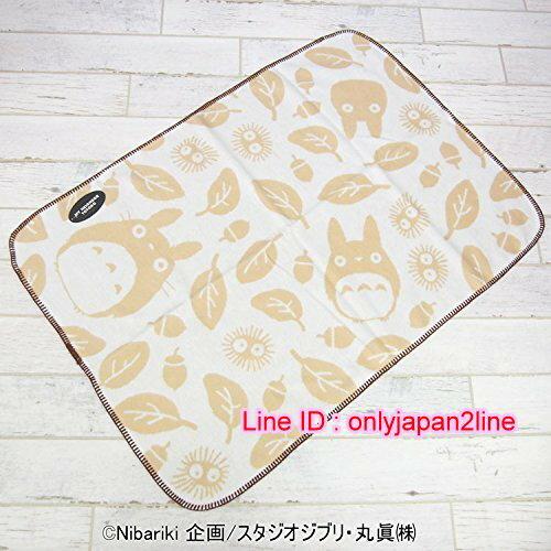 【真愛日本】16103100012冷氣毯-龍貓米色樹葉咖啡邊   龍貓 TOTORO 豆豆龍  冷氣毯 懶人毯
