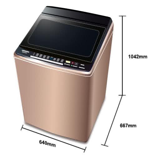 Panasonic 國際牌NA-V188EB-T 棕 17公斤 直立式變頻洗衣機 樂天Summer洗衣機