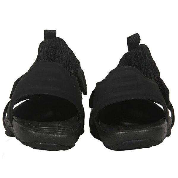 Shoestw【943827-001】NIKE Sunray Protect 涼鞋 洞洞 黏帶 護趾 黑色 小童鞋 3