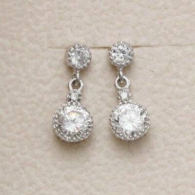 ~925純銀耳環鑲鑽耳飾~高雅奢華耀眼迷人情人節 女飾品73dm87~ ~~米蘭 ~
