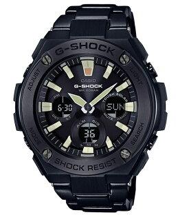 CASIOG-SHOCKGST-S130BD-1A炫黑絕對強悍雙顯腕錶52.4mm