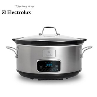 Electrolux 伊萊克斯 ESC6503S 設計家系列 7公升 微電腦陶瓷慢燉鍋