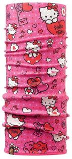 【【蘋果戶外】】BF110905BUFFPolartec氣球快遞kitty兒童冬季保暖兩段式吸濕排汗魔術頭巾