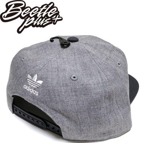 超熱賣 BEETLE ADIDAS ORIGINALS THRASHER 灰 黑 後扣棒球帽 貝克漢 SNAPBACK AN9071 NT-96 1