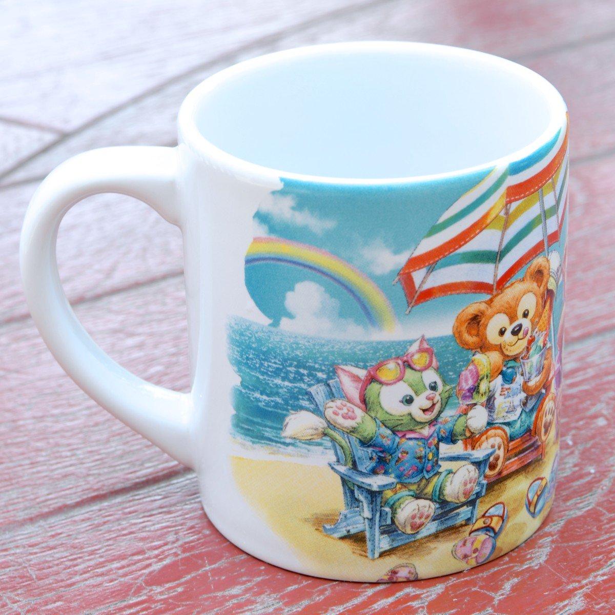 日本東京迪士尼代購- 夏季限定 達菲Duffy小餐杯,水杯 / 馬克杯 / 情侶對杯 / 湯杯 / 玻璃杯 / 不鏽鋼杯 / 漱口杯,X射線【C010005】 1