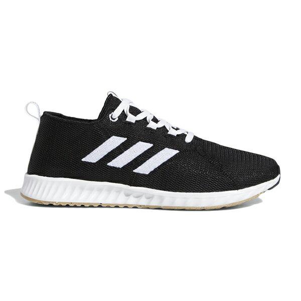 ADIDAS EPM RUN W 慢跑鞋 針織 輕量 透氣網布 黑色 女生【BD7089】