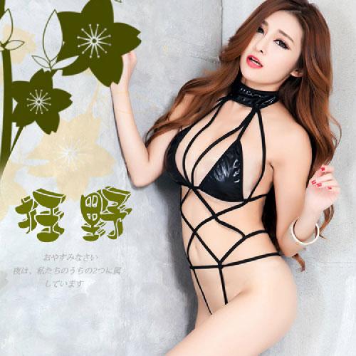 【伊莉婷】幸福女王 捆綁型性感連體衣(黑) CF-19160355 - 限時優惠好康折扣