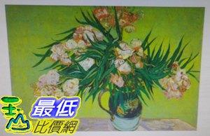 [COSCO代購如果售完謹致歉意]W120487梵谷-Oleanders松木框油畫30x45CM