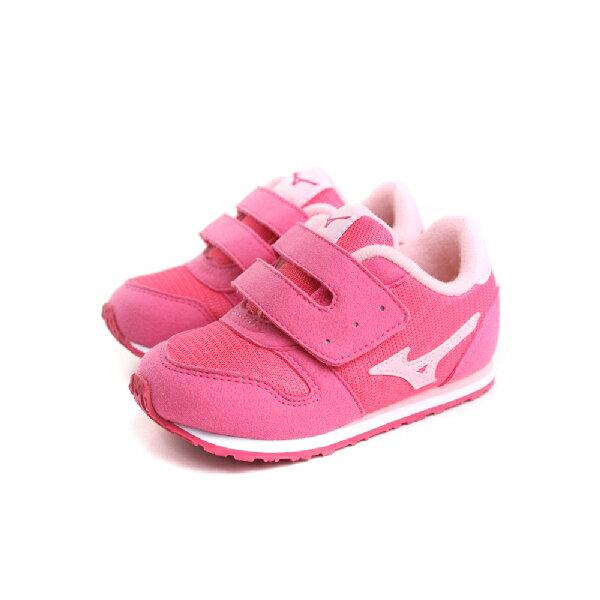 Mizuno 美津濃 休閒鞋 童鞋 粉色 小童 no008