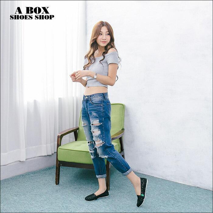 格子舖*【AW523】*限時免運* MIT台灣製 時尚透氣透視蕾絲網布 豆豆鞋 圓頭包鞋 娃娃鞋 2色 2
