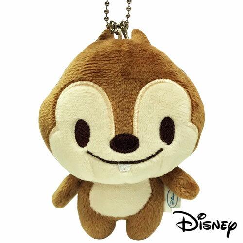 奇奇款【日本進口】奇奇蒂蒂 迪士尼人物 立體 珠扣零錢包 珠扣包 零錢包 吊飾 Disney - 060364
