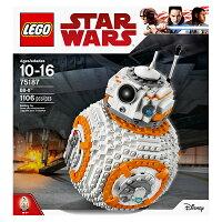 【LEGO 樂高積木】星際大戰系列-BB-8機器人 LT-75187