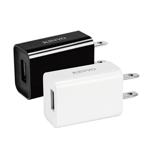 KINYO CUH-20單孔豆腐頭USB充電器【愛買】