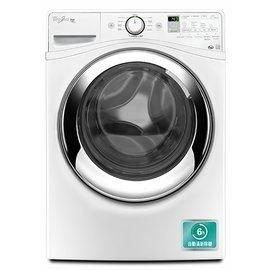 美國原裝惠而浦Whirlpool變頻蒸氣15公斤滾筒洗衣機 WFW97HEDW