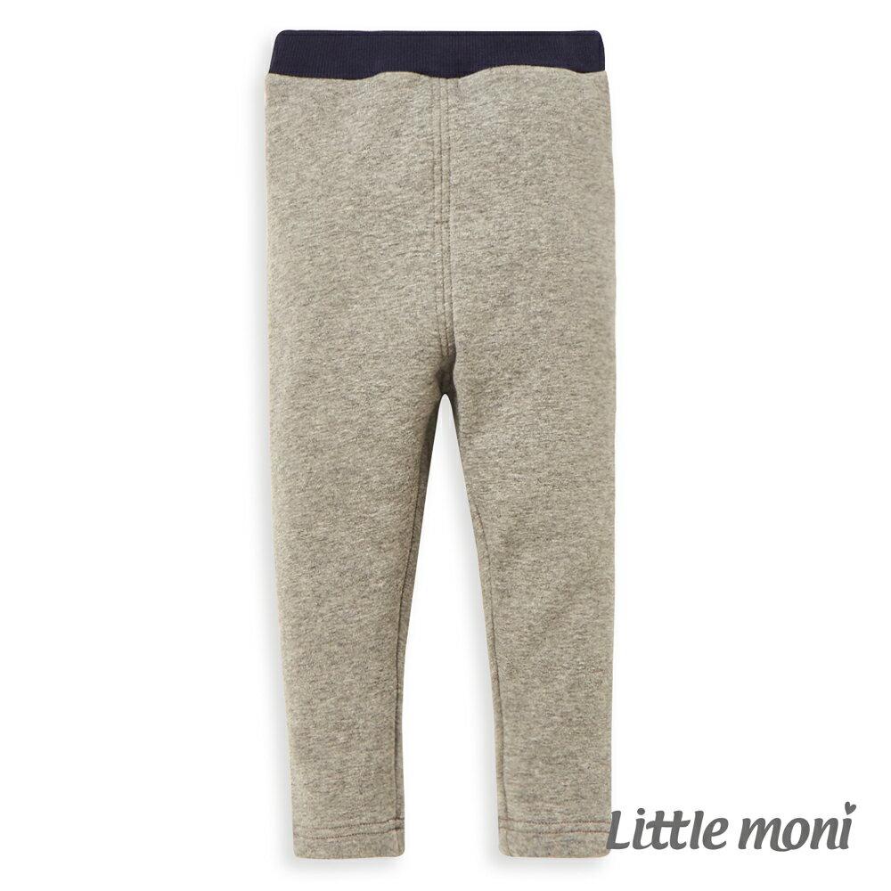 Little moni 內刷毛合身褲-灰色(好窩生活節) 0