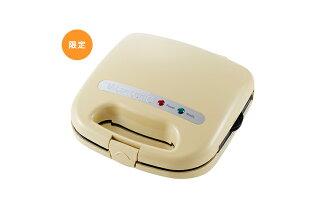 日本 Vitantonio VWH-11-C 限定限量米黃色鬆餅機 內附三種花式烤盤 (預購)