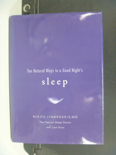 【書寶二手書T6/養生_OMB】Ten Natural Ways to a Good Night's Sleep