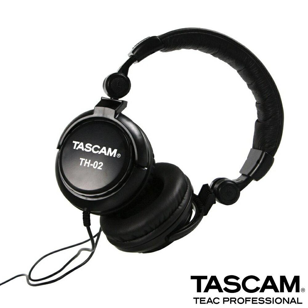 ..  【日本 TASCAM 】達斯冠 耳罩式耳機 TH-02 正成公司貨