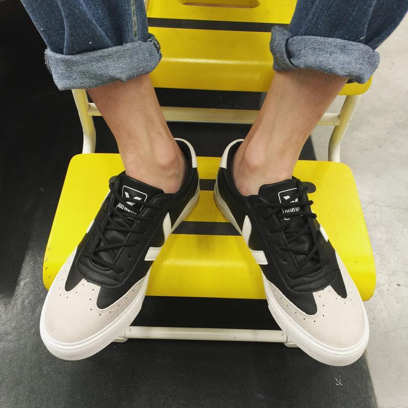 2016秋季新款學院風低幫復古時尚帆布鞋百搭潮流男鞋子休閑透氣潮