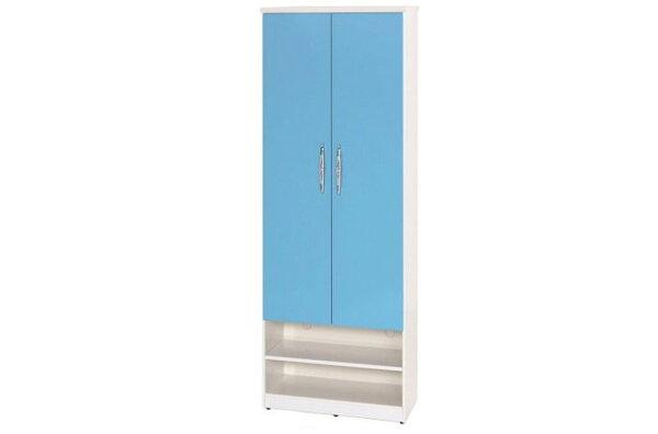 【石川家居】890-04(藍白色)鞋櫃(CT-331)#訂製預購款式#環保塑鋼P無毒防霉易清潔