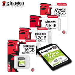 最新 KINGSTON金士頓 128GB  相機 記憶卡  Canvas Select SD C10 U1