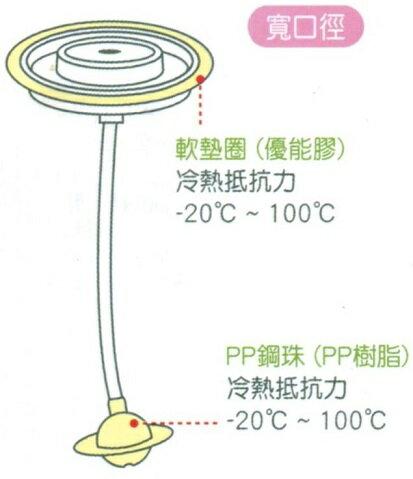 大眼蛙 寬口徑自動吸管組(長) D-5616
