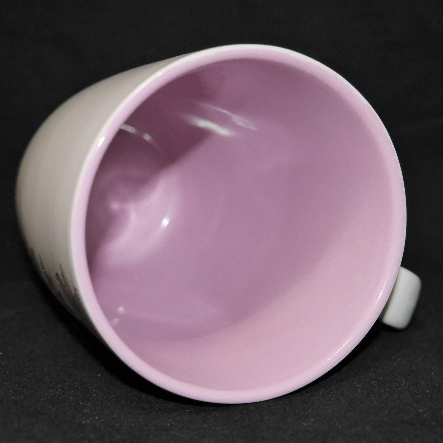馬克杯紫色花草紋500ml【曉風】 3