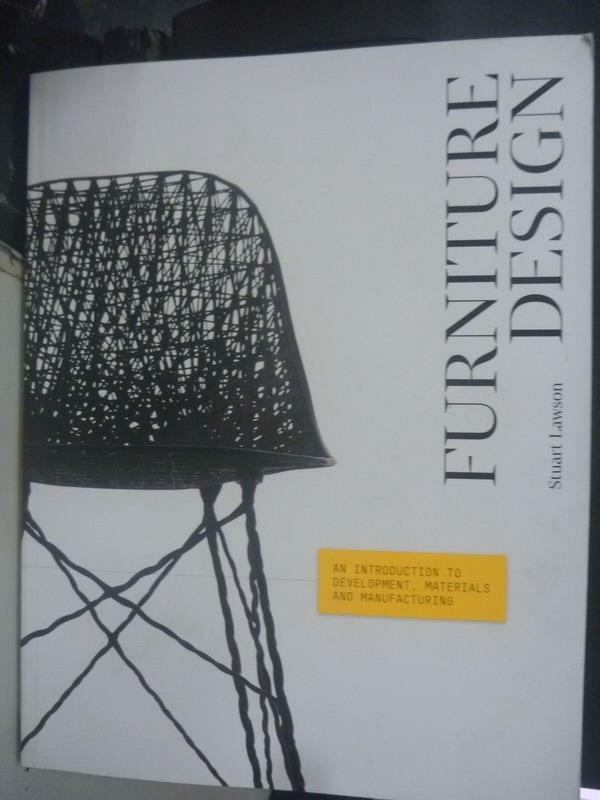 【書寶二手書T8/設計_ZCK】Furniture Design_Stuart Lawson