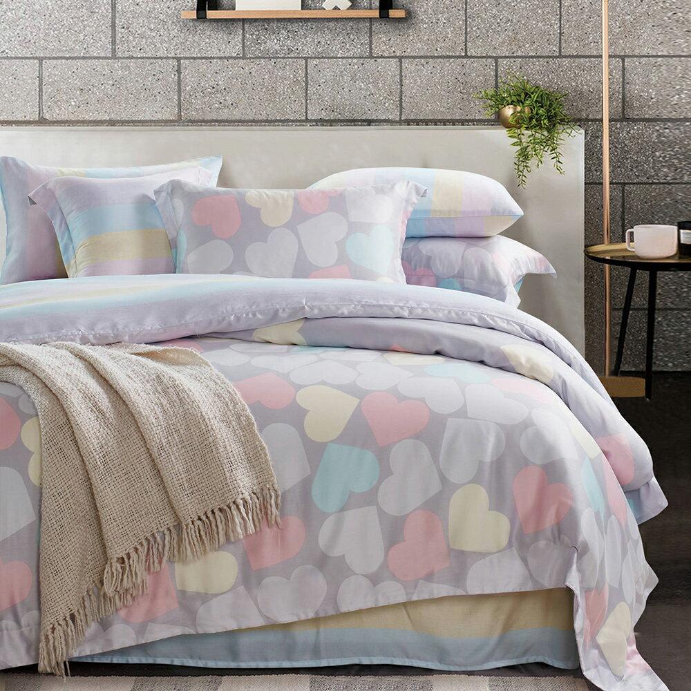 Lily Royal 天絲 妙戀 雙人六件式兩用被床罩組 / 哇哇購