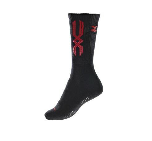 [陽光樂活=]MIZUNO美津濃女運動厚底襪排球襪32TX72059622~25cm