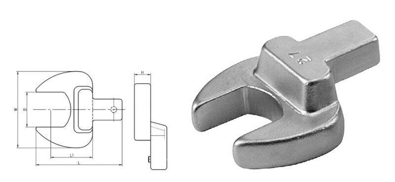 *韋恩工具* AOK 14X18MM 11件 扭力接頭 開口 板手組 FHOK2-11