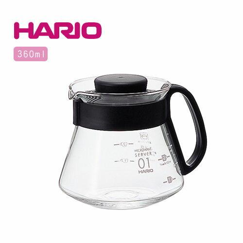 【威豆精品咖啡】HARIO V60耐熱玻璃咖啡專用壺 1~3杯用 360ml XVD-36B - 限時優惠好康折扣