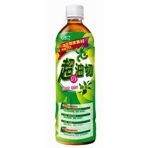 古道 超の油切 綠茶 無糖 600ml