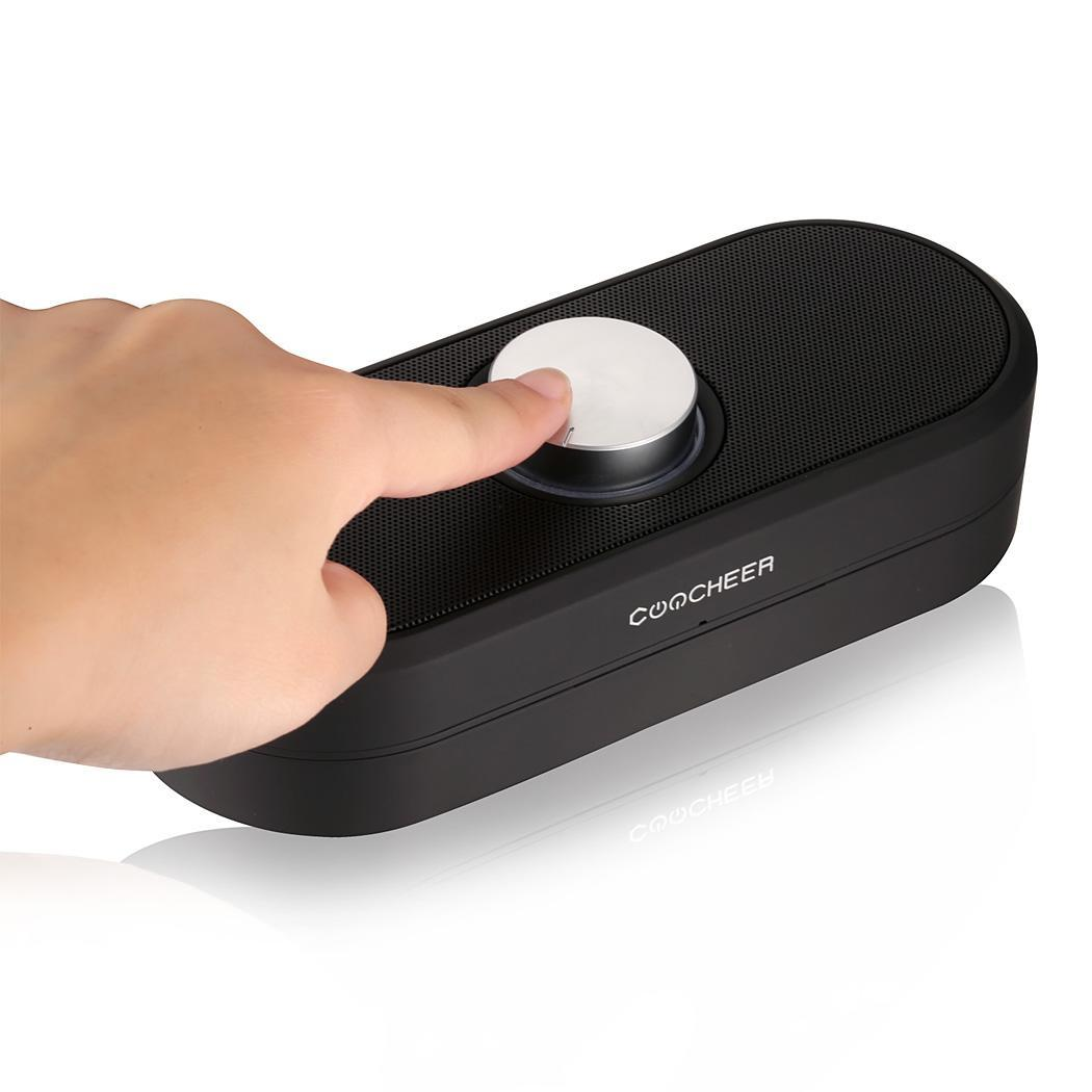 Compact Portable Black Wireless Bluetooth Speaker for iPhone, For iPad Mini, for Ipad 4/3/2, Mp3 Player 3