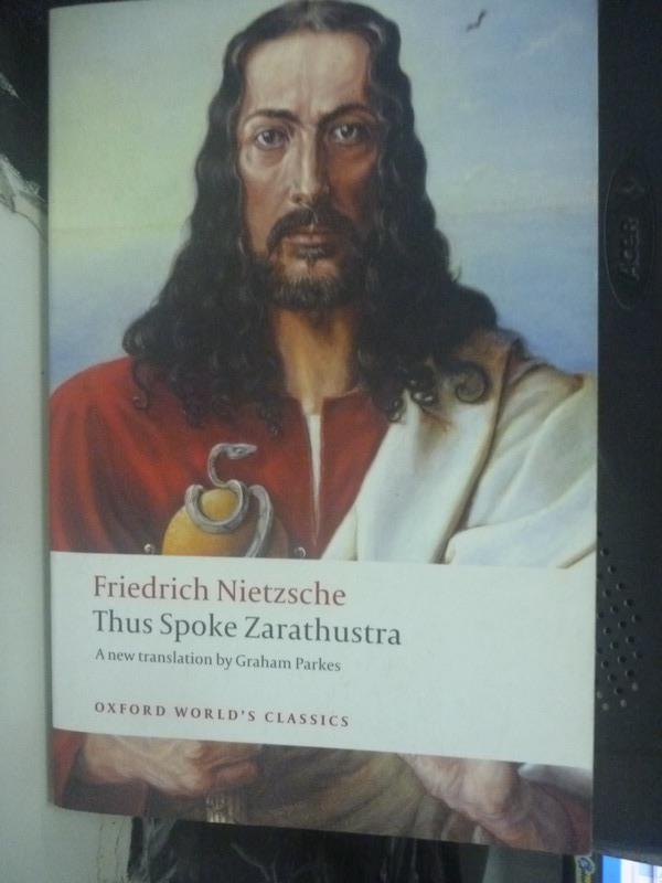 ~書寶 書T4/宗教_III~Thus spoke Zarathustra : a boo