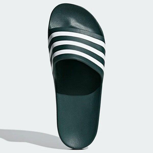 ADIDAS CHINELO ADILETTE AQUA 男鞋 女鞋 拖鞋 休閒 經典 綠【運動世界】F35537
