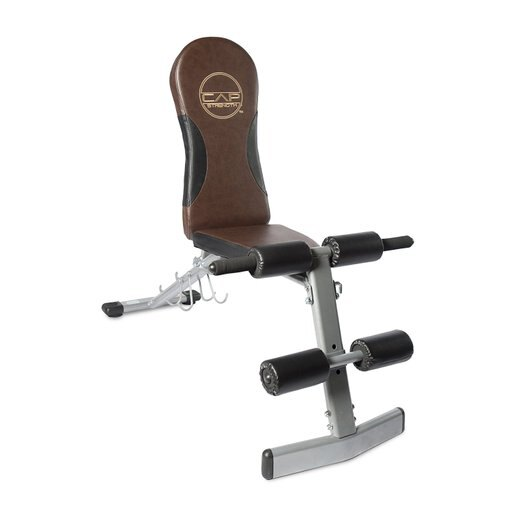 CAP Barbell Black Flat/Incline/Decline Bench