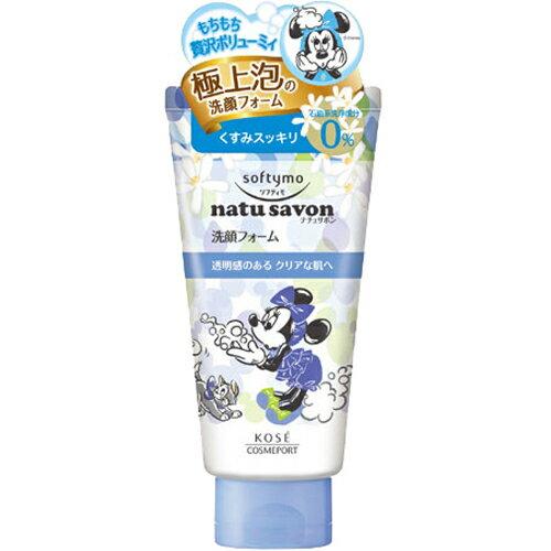 KOSE 迪士尼SOFTYMO清爽潔淨泡沫洗面乳(清爽型)