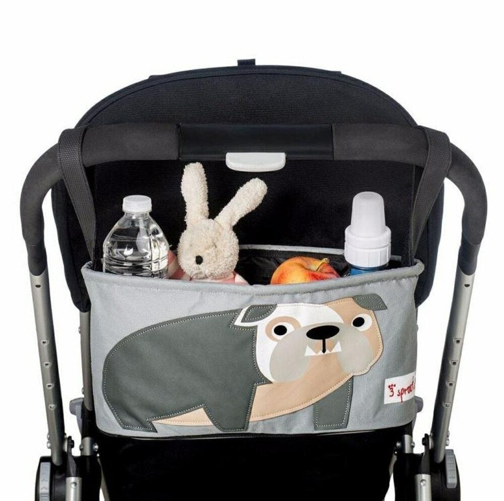 加拿大3sprouts玩具寶寶嬰兒手推車掛袋收納袋掛包童車推車袋掛籃【韓國 週】