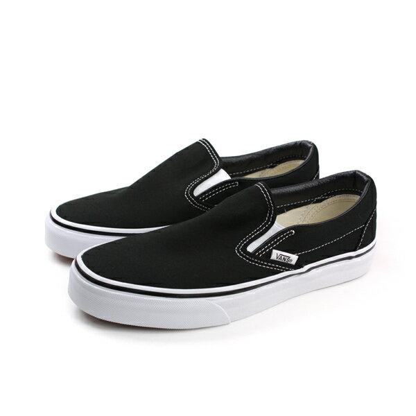 VANS Classic Slip-On 滑板鞋 懶人鞋 黑色 男女鞋 C011799 no313