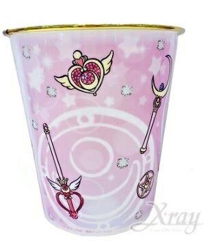美少女戰士 塑膠垃圾桶,垃圾筒/雜物桶/水桶/分類桶/資源回收桶/廚餘桶,X射線【C479879】