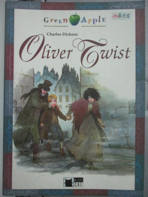 【書寶二手書T1/語言學習_XDF】Oliver Twist_Charles Dickens