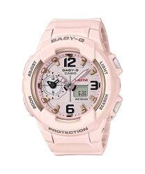 CASIO 卡西歐 引領潮流系列百變時尚休閒雙顯錶 粉紅 女錶 BGA-230SC-4BDR 41mm